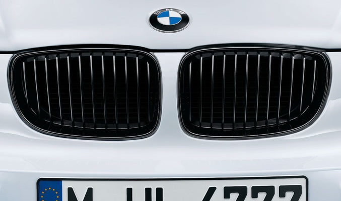 BMW Performance Front Left Grille Black