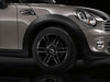 "MINI Genuine 16"" Light Alloy 6-Star Twin-Spoke Black"