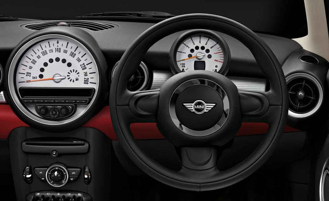 MINI Genuine Sport Steering Wheel Cover Protector Bottom Black