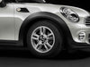 "MINI Genuine 15"" Light Alloy Wheel 5-Star Twin-Spoke R118 Silver"