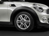 "MINI Genuine 16"" Light Alloy Wheel 6-Star Twin-Spoke R119 Silver"