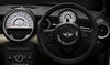 MINI Genuine Steering Wheel Spoke Trim Covers Set Black