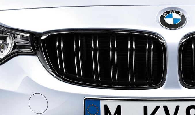 BMW Genuine M Performance Front Bumper Radiator Grille Right