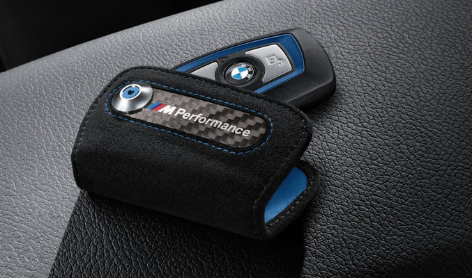 BMW Genuine M Performance Logo Key Fob Cover Case