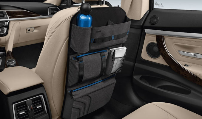 BMW Genuine Seat-Back Headrest Storage Organiser Pouch