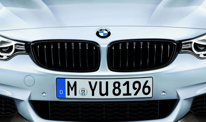 BMW Genuine M Performance Front Left Grille Trim Gloss Black