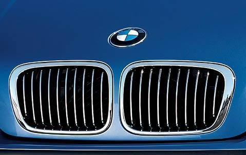 BMW Genuine Front Right Kidney Grille Chrome