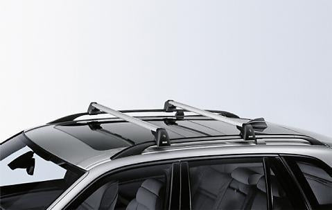BMW Aluminium Alu Safety Lockable Roof Bars Rack