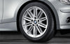 "1x BMW Genuine Alloy Wheel 17"" M Double-Spoke 207 Rear"
