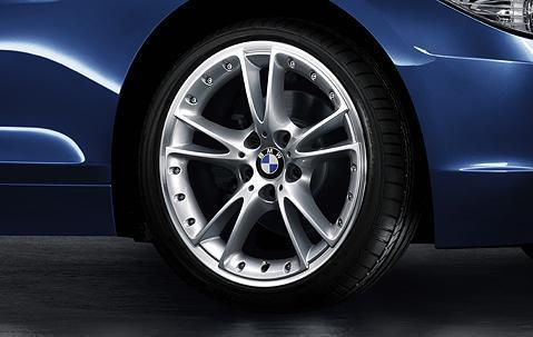 "1x BMW Genuine Alloy Wheel 18"" V-Spoke 294 Rear Rim"