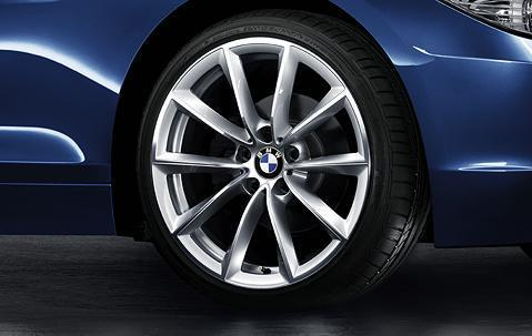 "1x BMW Genuine Alloy Wheel 19"" V-Spoke 296 Rear Rim"
