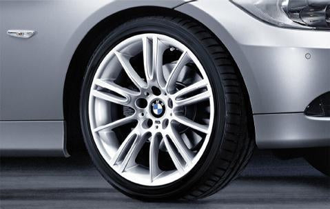 "1x BMW Genuine Alloy Wheel 18"" M Star-Spoke 193 Rear"