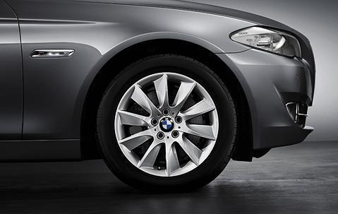 "1x BMW Genuine Alloy Wheel 18"" Turbine Style 329 Front"