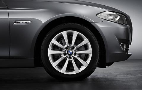 "1x BMW Genuine Alloy Wheel 18"" V-Spoke 328 Rim"