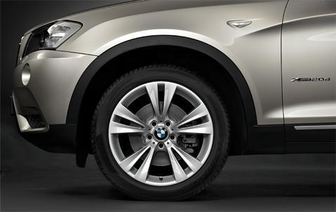 "1x BMW Genuine Alloy Wheel 19"" Double-Spoke 309 Front Rim"