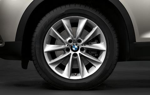 "1x BMW Genuine Alloy Wheel 18"" V-Spoke 307 Rim"