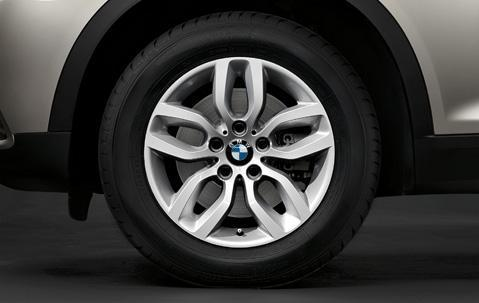 "1x BMW Genuine Alloy Wheel 17"" Y-Spoke 305 Rim"