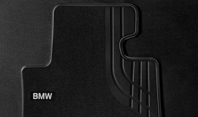 Genuine BMW Front Floor Mats Textile Black