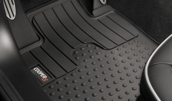 MINI Genuine All Weather Front Floor Mat Set For Cooper S