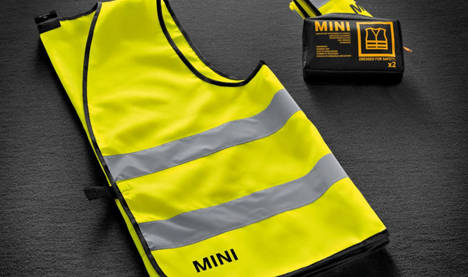 MINI HIGH-VISIBILITY SAFETY VESTS