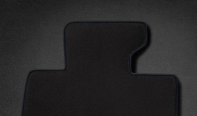 MINI Genuine Velour Floor Mats Set/Kit Carbon Black R56