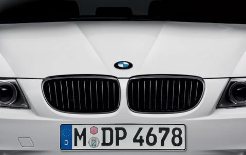 BMW Performance Genuine Front Right Grille Black