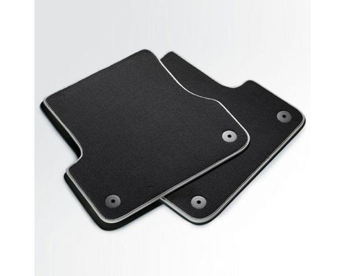 Audi Rear Premium Textile Car Mats for Audi A6 Models
