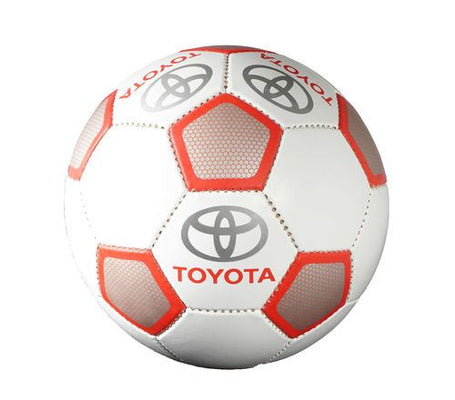 Genuine OEM Toyota Red & White Branded Size 5 Football (supplied deflated)