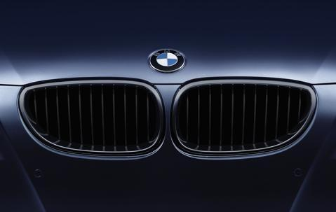 BMW Genuine Front Left Grille Black