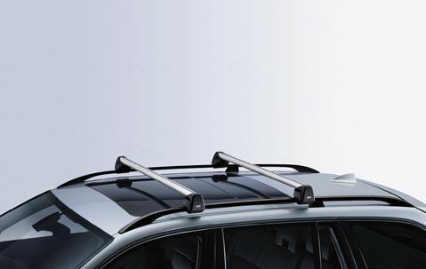 BMW Genuine Alu Aluminium Lockable Roof Bars Rack