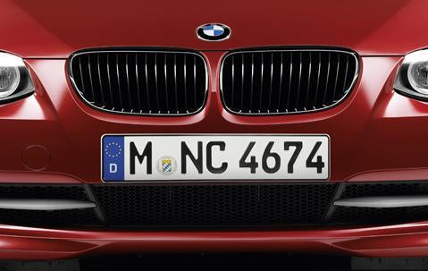 BMW Genuine Front Right Performance Kidney Grille Black