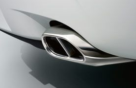 Jaguar Polished Tailpipe Finishers
