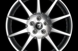 "Jaguar Alloy Wheel 18"" Meru, Rear"