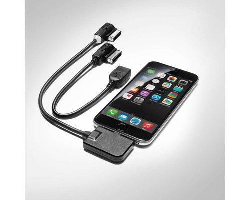 Audi Music Interface IPhone Adapter Cable Set
