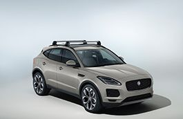 Jaguar Roof Cross Bars with Factory Fitted Roof Rails