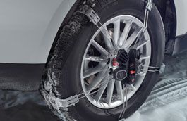 Jaguar Snow Traction System
