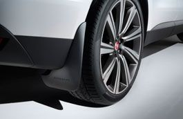 Jaguar Mudflaps Rear
