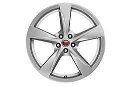 "Jaguar Alloy Wheel 20"" Style 5060, 5 spoke, Front"