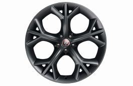 "Jaguar Alloy Wheel 20"" Style 5040, 5 split spoke, Grey, Rear, Pre 21MY"