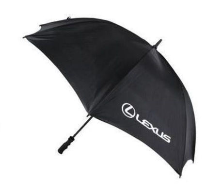 Genuine OEM Lexus Black Branded Sports Umbrella