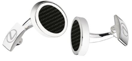 Genuine Lexus Logo Branded Cufflinks Merchandise Mens