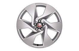 "Jaguar Alloy Wheel 20"" Style 6007, 6 spoke, Sparkle Silver"