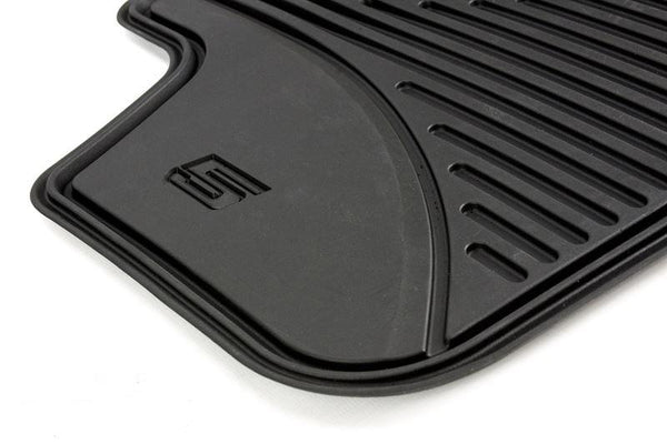 BMW Genuine All Weather Rubber Car Floor Mats Front + Rear Set