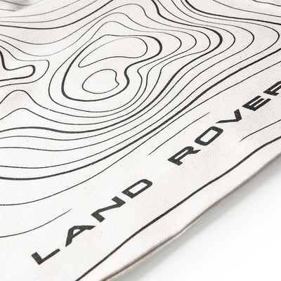 Land Rover Relief Map Tote Bag