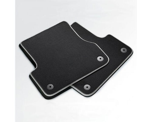 Audi Rear Premium Textile Car Mats for Audi A4 Models