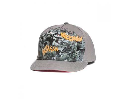Audi Children's Comic Print Grey Cap