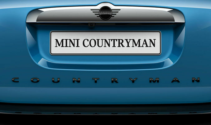 MINI Blackline Badging Countryman / Clubman
