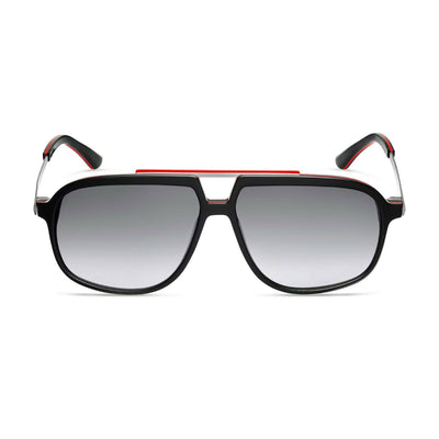 Audi Heritage Sunglasses, black/red