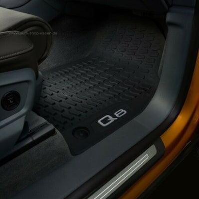 Audi Q8 Rear Rubber Mats
