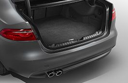 Jaguar Loadspace Luxury Carpet Mat InControl Touch, Space Saver Spare Wheel